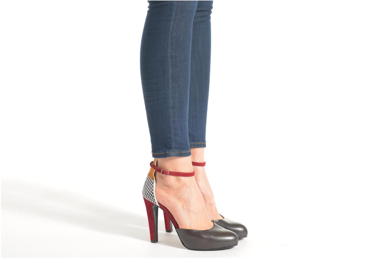 Notting Heels #5 Mestizo antracite + ante yecla + charol PDP + arkansas