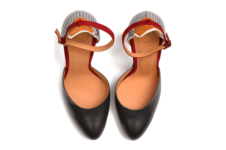 Escarpins Made by SARENZA Notting Heels #5 Multicolore vue haut