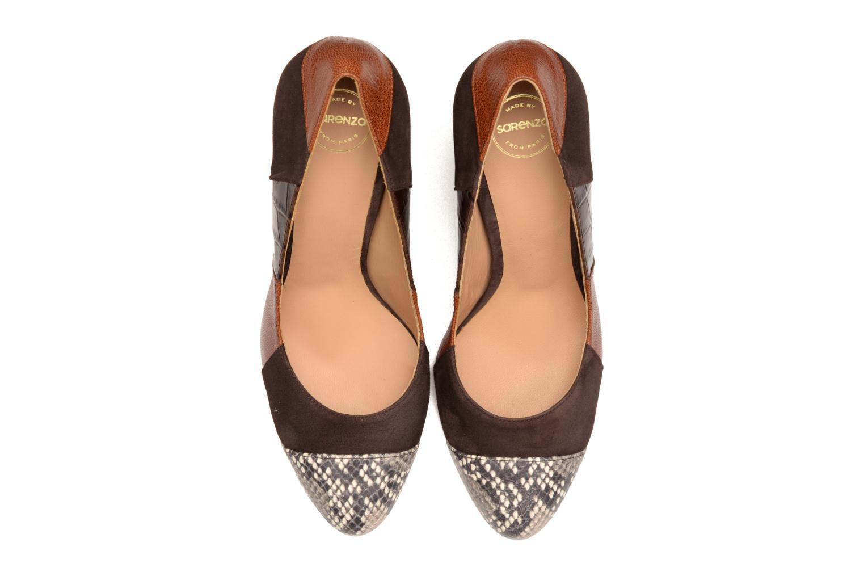 Escarpins Made by SARENZA My Talon Is Rich #6 Marron vue portées chaussures