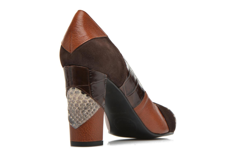 Zapatos de tacón Made by SARENZA My Talon Is Rich #6 Marrón vista de frente
