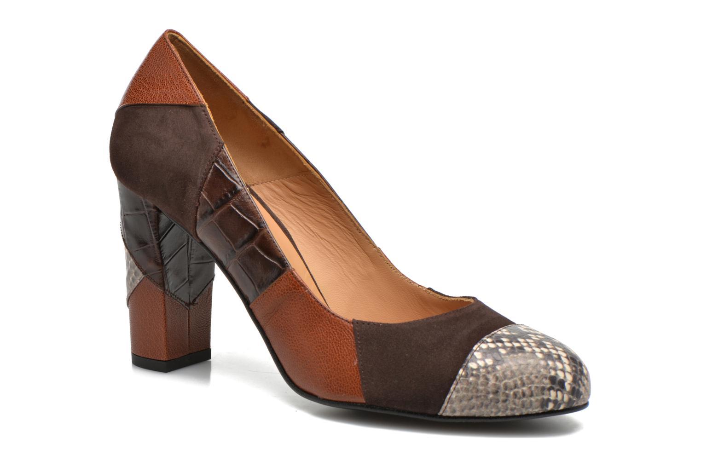 Zapatos de tacón Made by SARENZA My Talon Is Rich #6 Marrón vista lateral derecha
