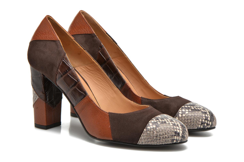 Zapatos de tacón Made by SARENZA My Talon Is Rich #6 Marrón vistra trasera
