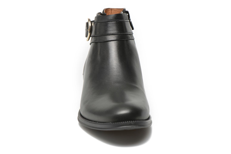 Bottines et boots Georgia Rose Eperdreau Noir vue portées chaussures