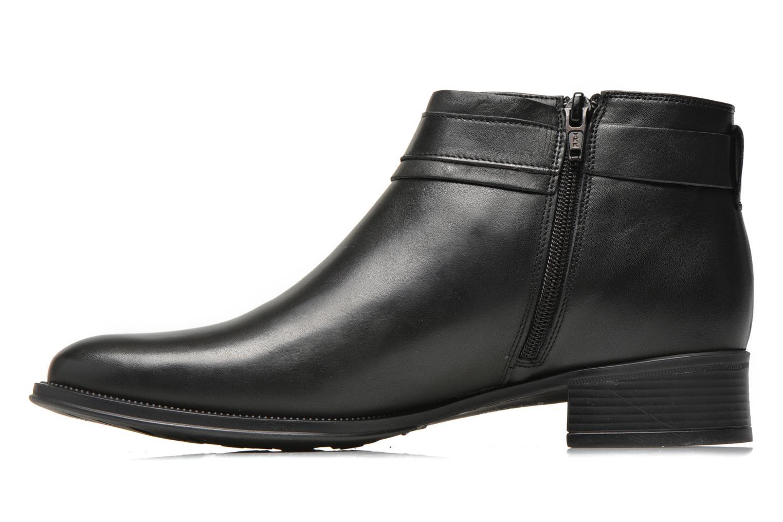 Bottines et boots Georgia Rose Eperdreau Noir vue face