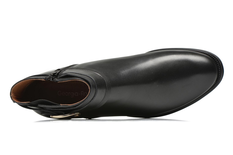 Bottines et boots Georgia Rose Eperdreau Noir vue gauche