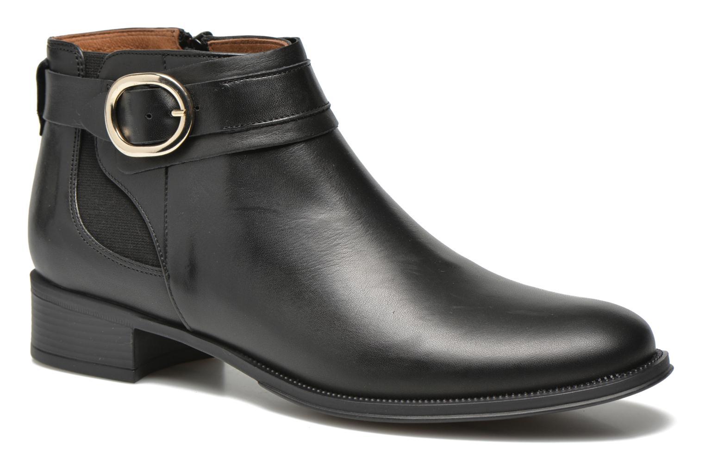 Bottines et boots Georgia Rose Eperdreau Noir vue détail/paire