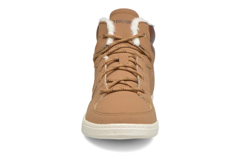 Baskets Le Coq Sportif Rebond Mid Gs Winter Beige vue portées chaussures