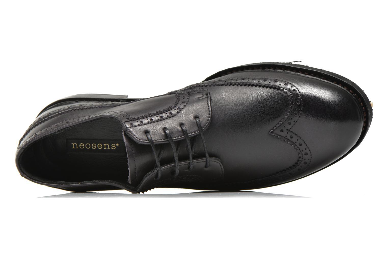 Chaussures à lacets Neosens Ferron 881 Noir vue gauche