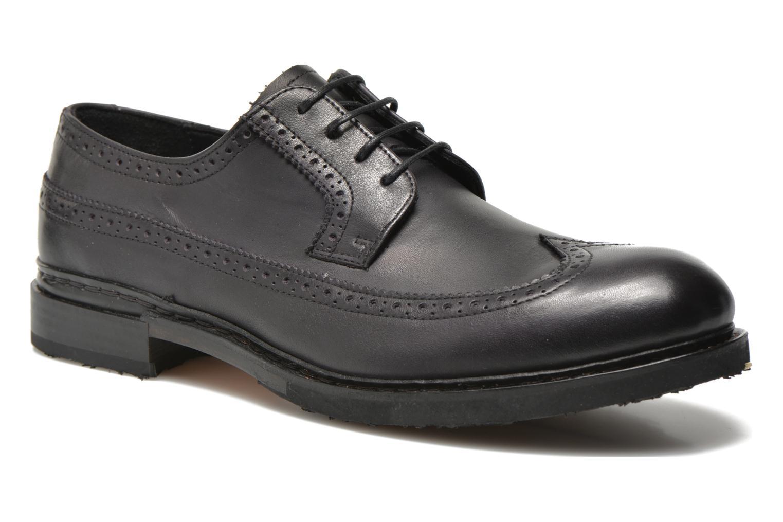 Chaussures à lacets Neosens Ferron 881 Noir vue détail/paire