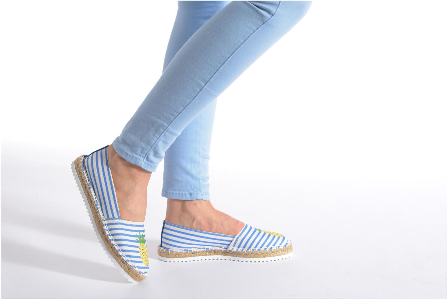 Espadrilles Gioseppo Diluna Multicolor view from underneath / model view