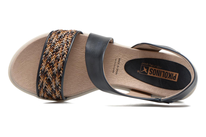 Sandales et nu-pieds Pikolinos Antillas W0H-0803 Bleu vue gauche