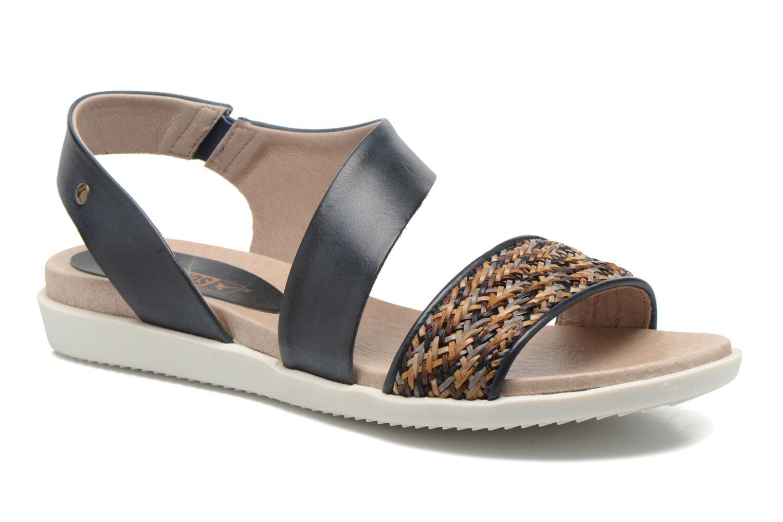 Sandales et nu-pieds Pikolinos Antillas W0H-0803 Bleu vue détail/paire
