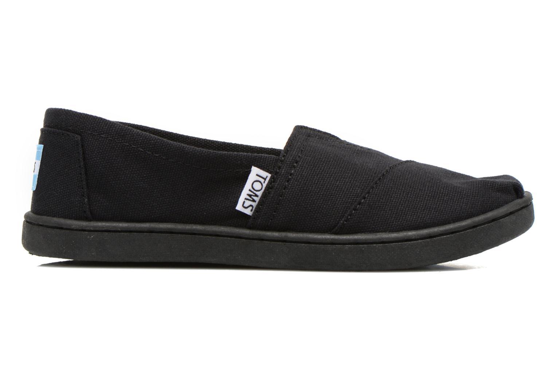 Sneaker TOMS Canvas Classics schwarz ansicht von hinten