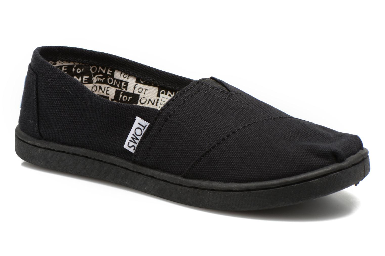 Sneaker TOMS Canvas Classics schwarz detaillierte ansicht/modell