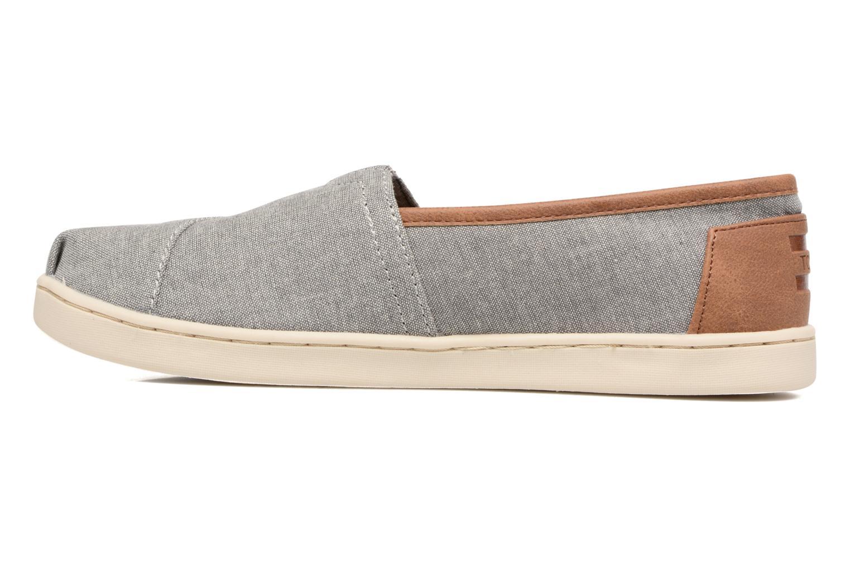 Sneaker TOMS Seasonal Classics grau ansicht von vorne