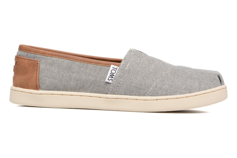 Sneaker TOMS Seasonal Classics grau ansicht von hinten