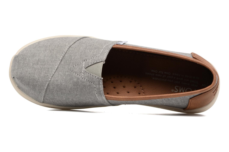 Sneaker TOMS Seasonal Classics grau ansicht von links