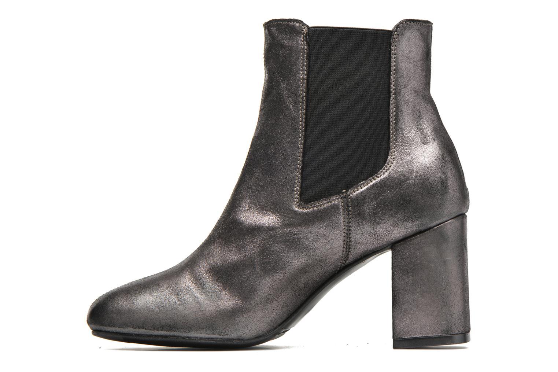 Bottines et boots Bronx Indira Or et bronze vue face
