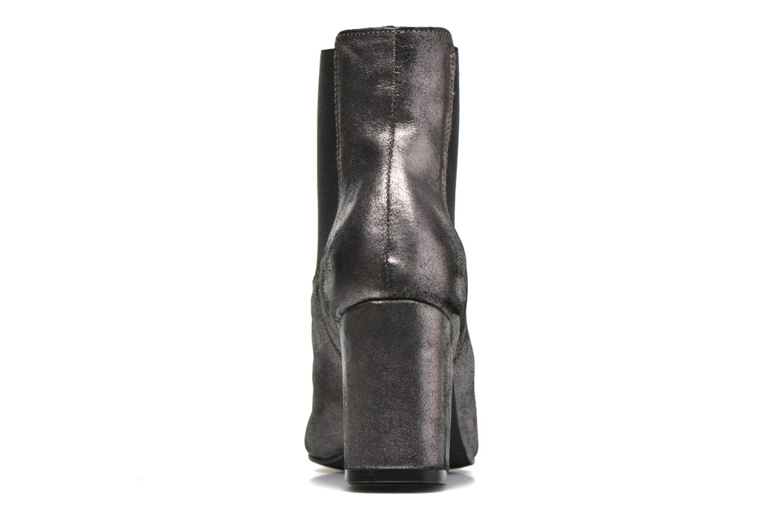 Bottines et boots Bronx Indira Or et bronze vue droite