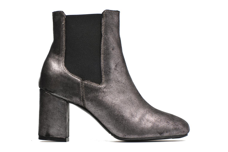 Bottines et boots Bronx Indira Or et bronze vue derrière