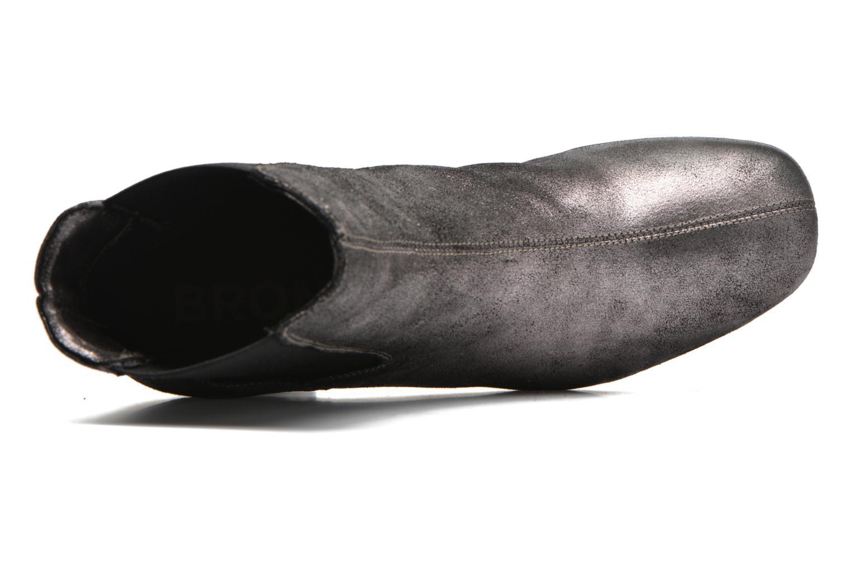 Bottines et boots Bronx Indira Or et bronze vue gauche