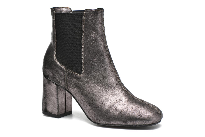 Bottines et boots Bronx Indira Or et bronze vue détail/paire