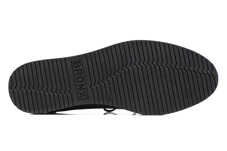 Zapatos con cordones Bronx Vino I Gris vista de arriba