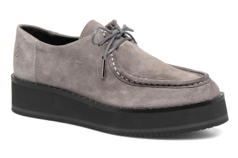 Zapatos con cordones Bronx Vino I Gris vista de detalle / par