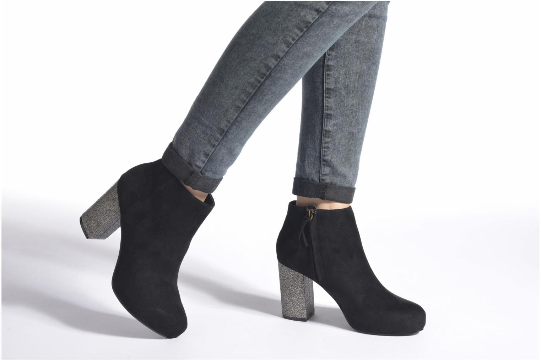 Bottines et boots Blink Tobi Noir vue bas / vue portée sac