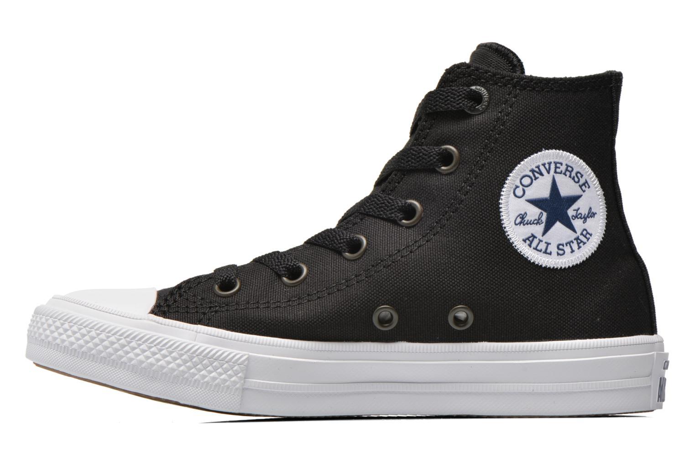 Sneaker Converse Chuck Taylor All Star II Hi schwarz ansicht von vorne