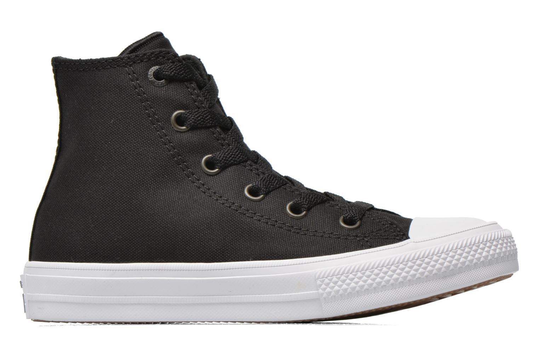 Sneaker Converse Chuck Taylor All Star II Hi schwarz ansicht von hinten