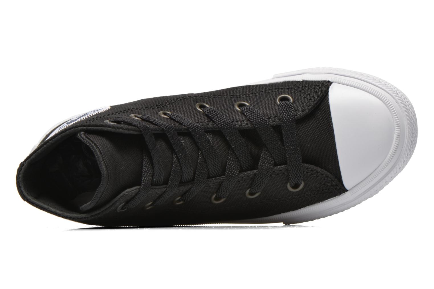 Trainers Converse Chuck Taylor All Star II Hi Black view from the left