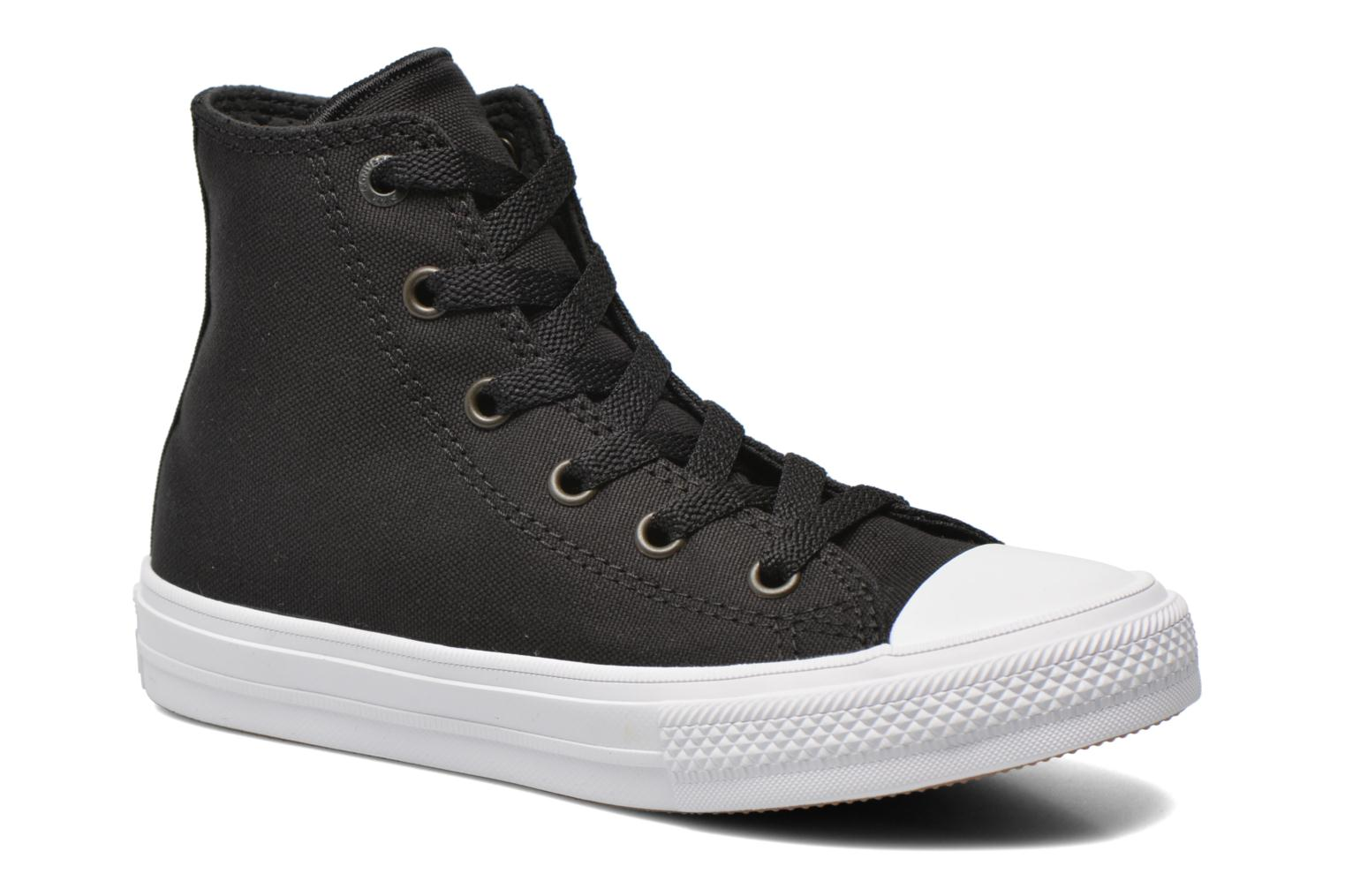 Chuck Taylor All Star II Hi Black  White