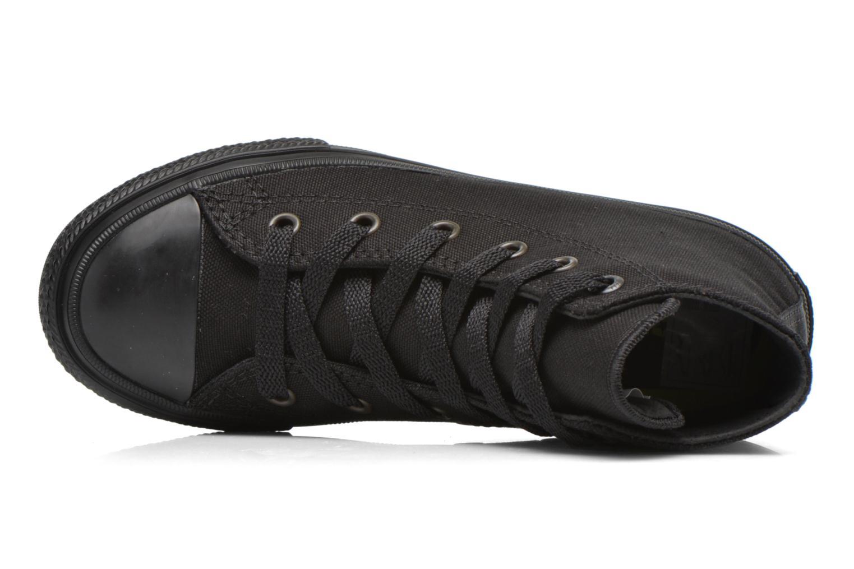 Sneaker Converse Chuck Taylor All Star II Hi schwarz ansicht von links