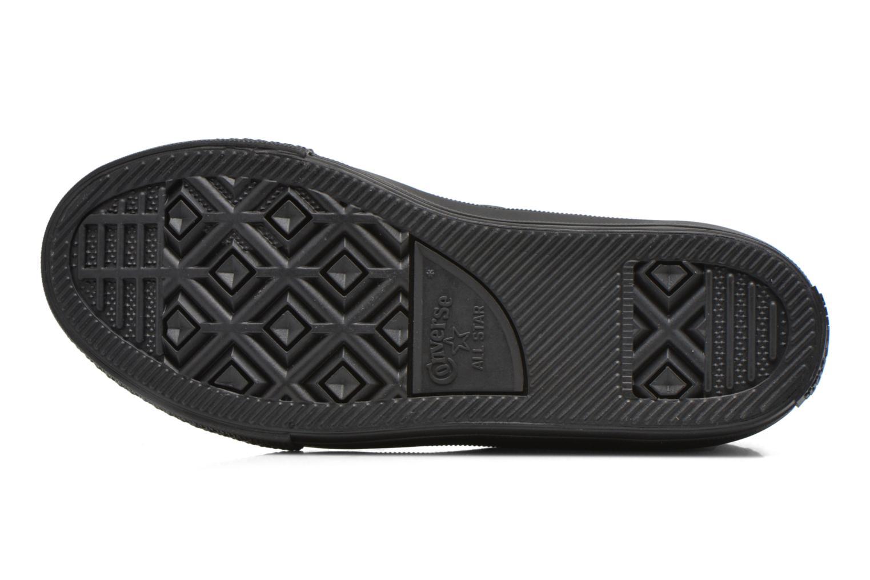 Sneaker Converse Chuck Taylor All Star II Hi schwarz ansicht von oben