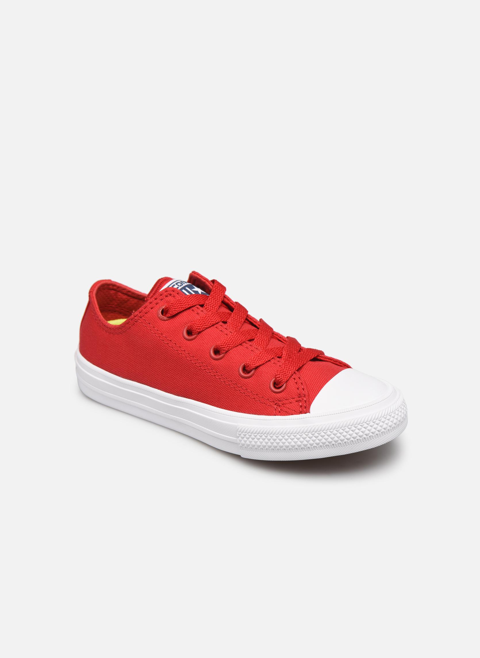 Sneakers Barn Chuck Taylor All Star II Ox Salsa RedWhiteNavy