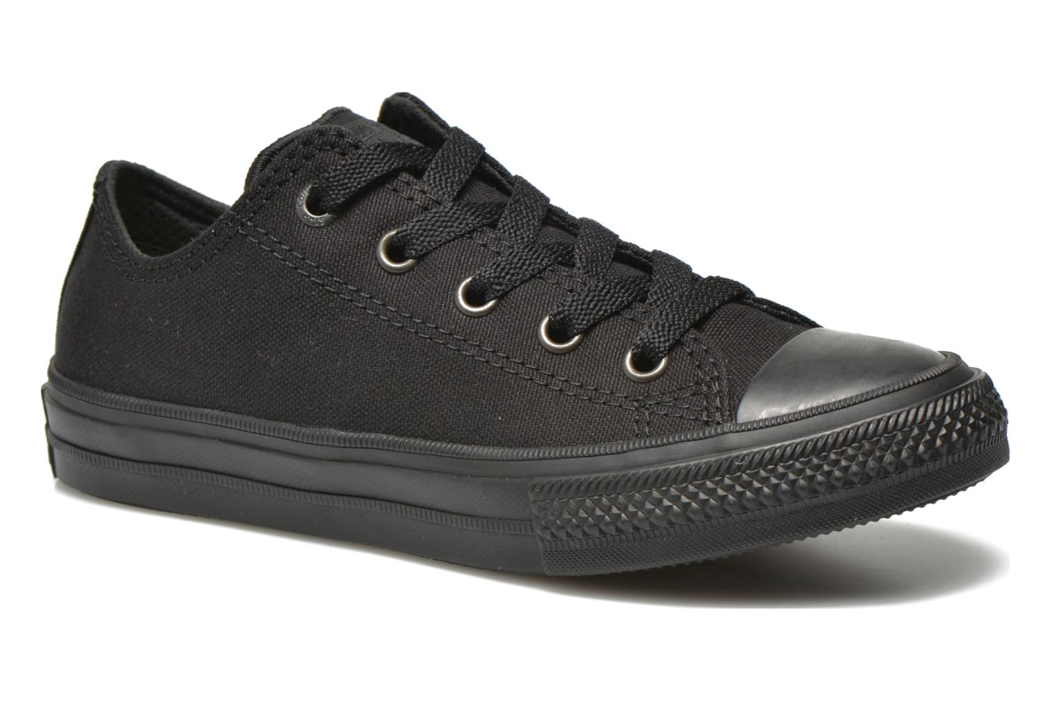 Baskets Converse Chuck Taylor All Star II Ox Noir vue détail/paire
