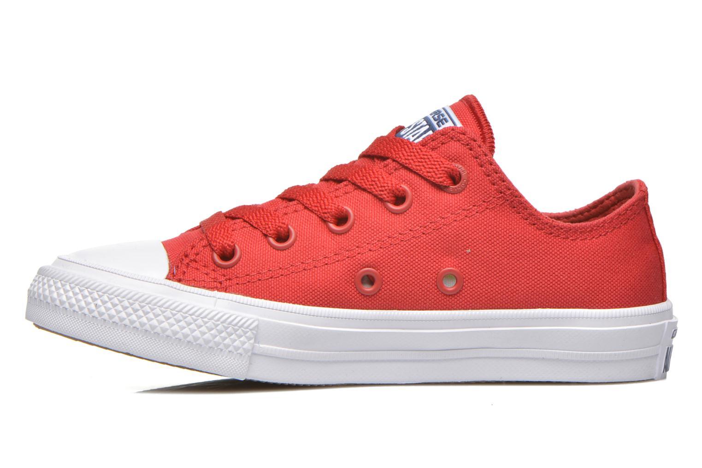 Sneaker Converse Chuck Taylor All Star II Ox rot ansicht von vorne