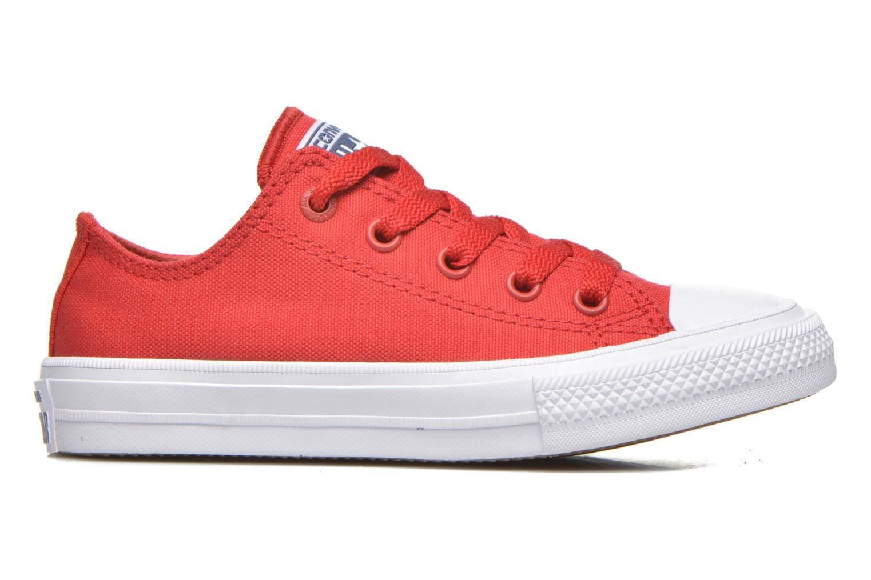 Sneaker Converse Chuck Taylor All Star II Ox rot ansicht von hinten