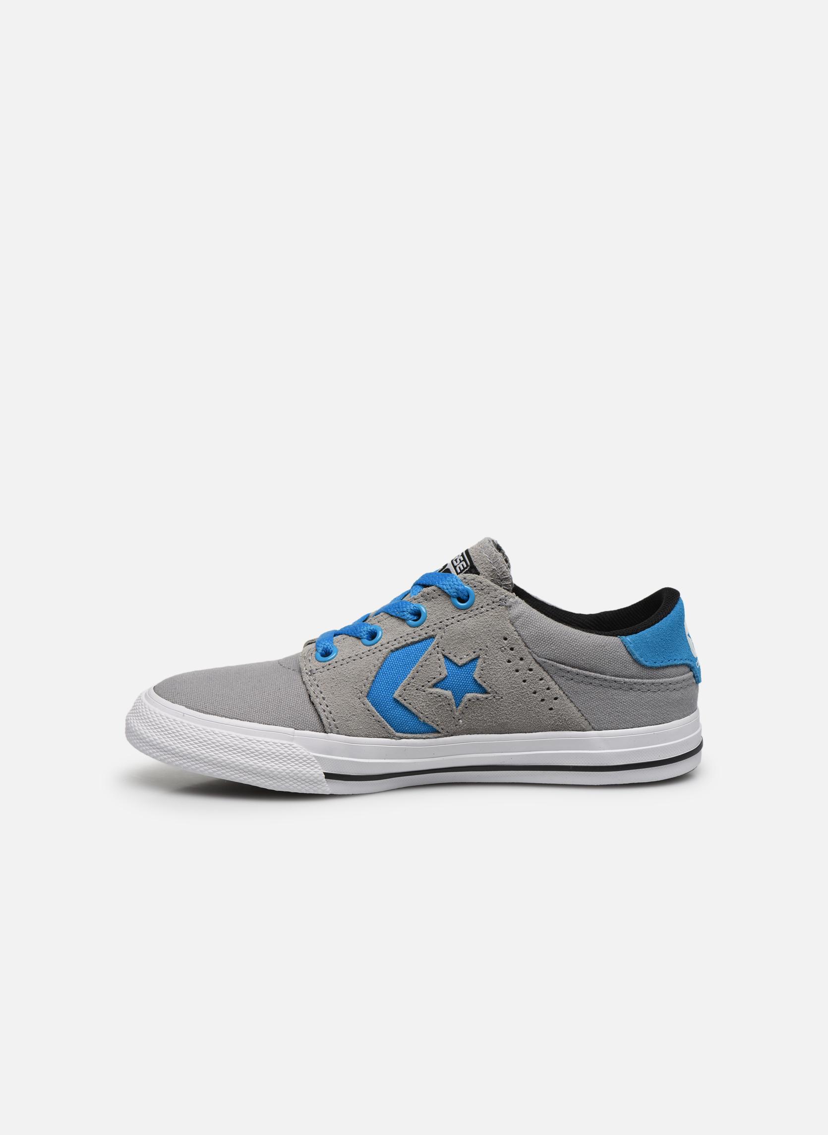 Sneakers Converse Cons Tre Star Ox Grigio immagine frontale