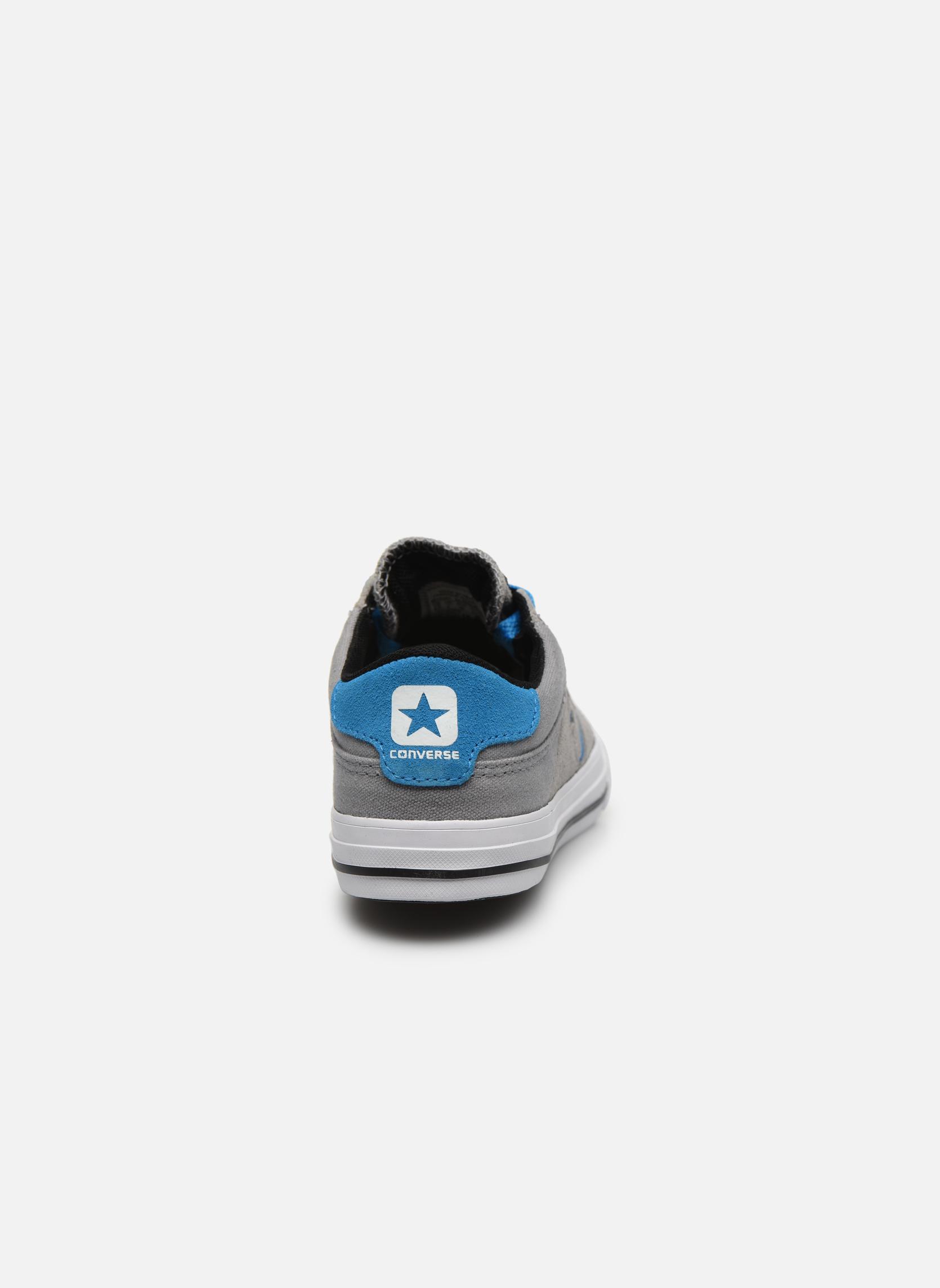 Sneakers Converse Cons Tre Star Ox Grigio immagine destra