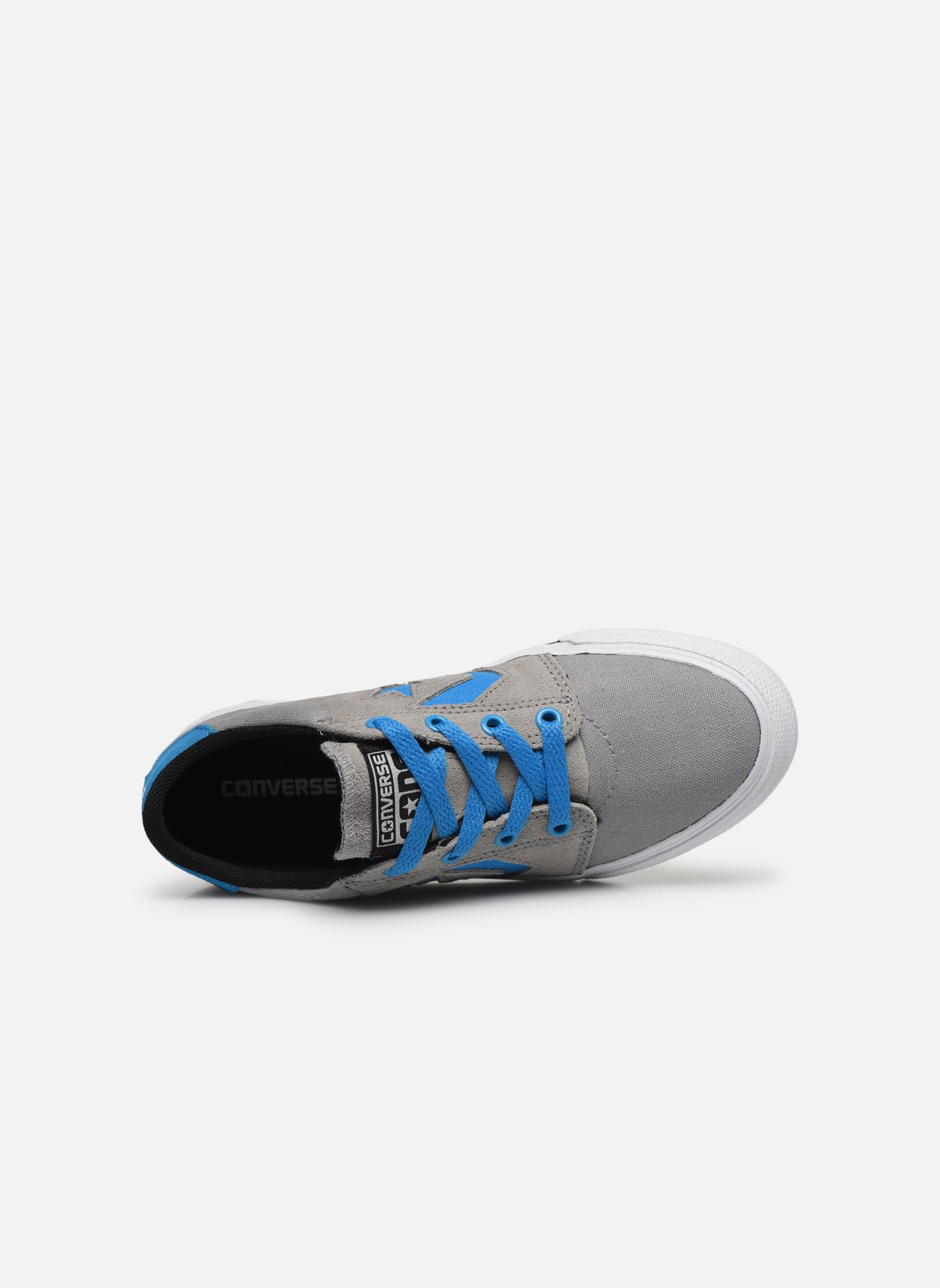 Sneakers Converse Cons Tre Star Ox Grigio immagine sinistra