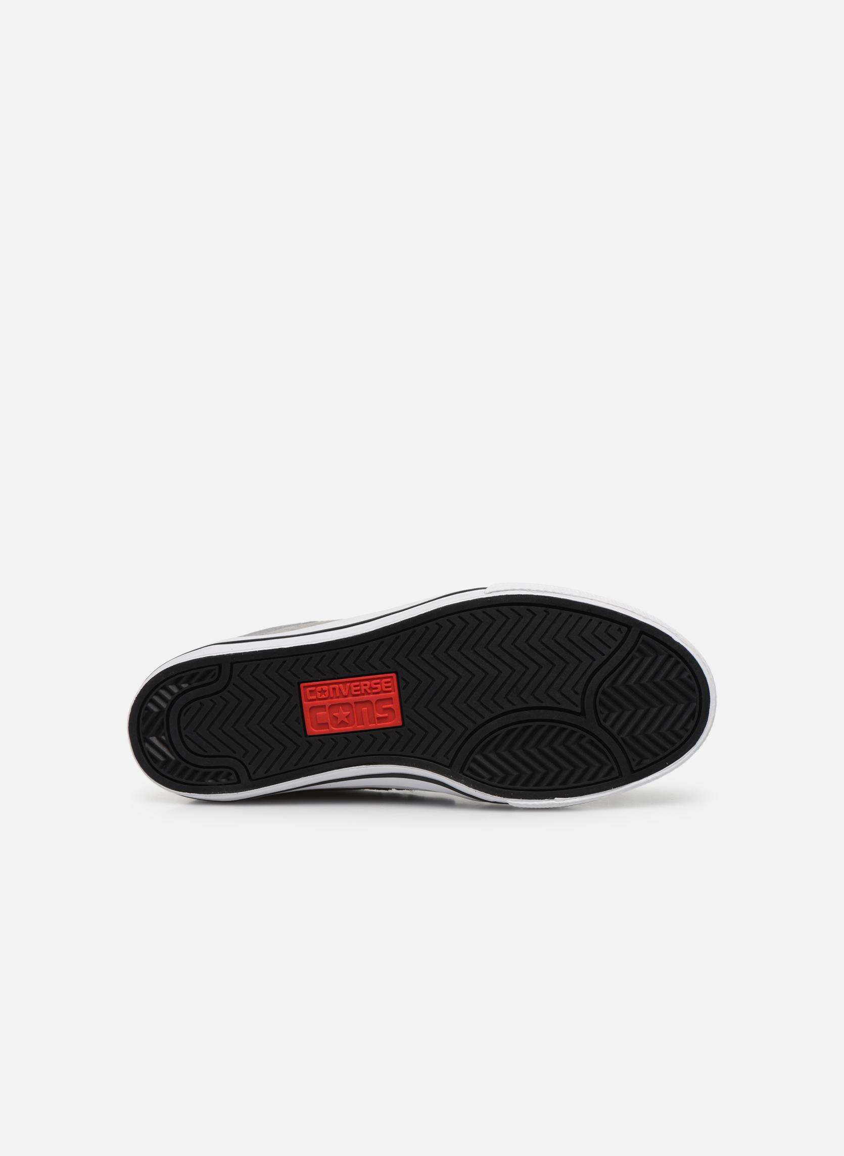 Sneakers Converse Cons Tre Star Ox Grigio immagine dall'alto