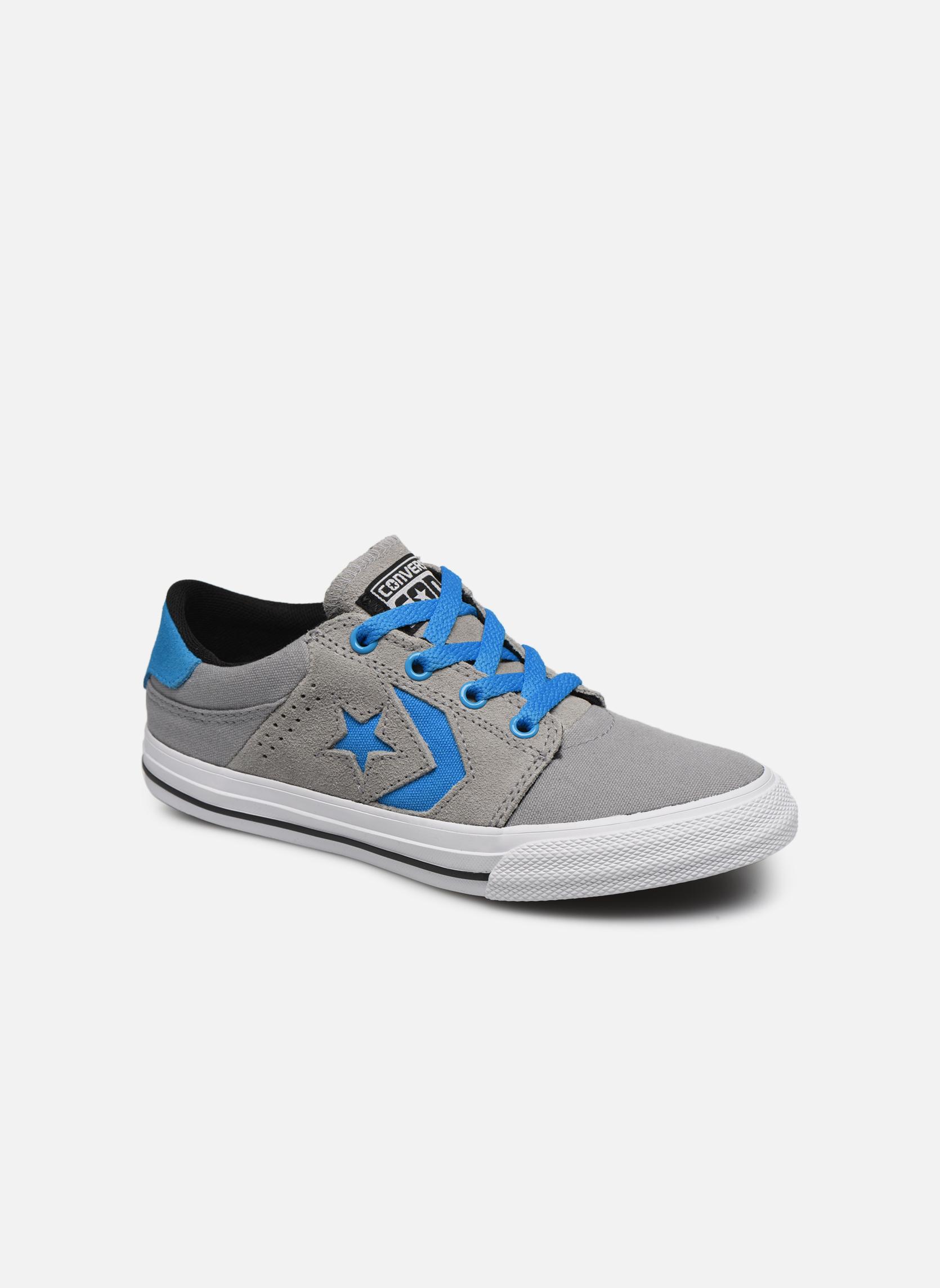 Sneakers Converse Cons Tre Star Ox Grigio vedi dettaglio/paio