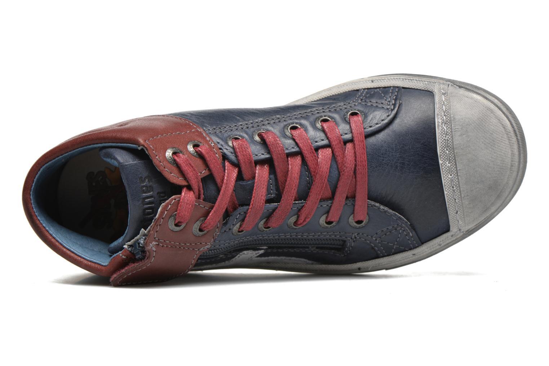 Sneakers Stones and Bones Itaco Azzurro immagine sinistra