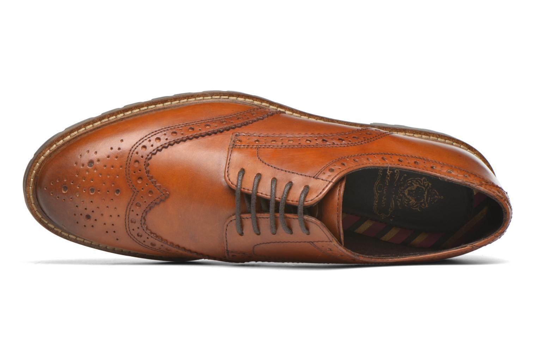 Chaussures à lacets Base London Trench Marron vue gauche