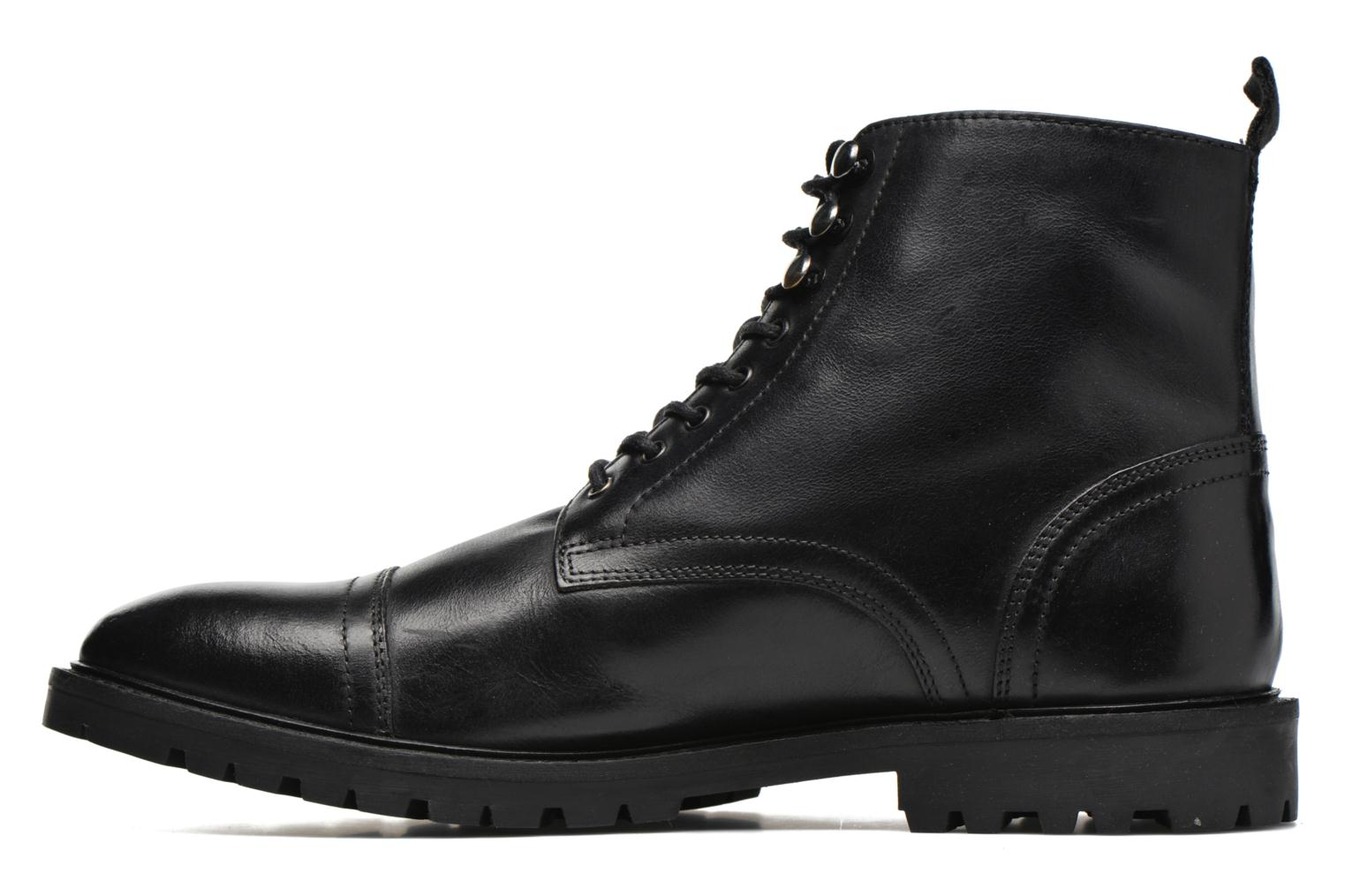 Ankle boots Base London Siege Black front view