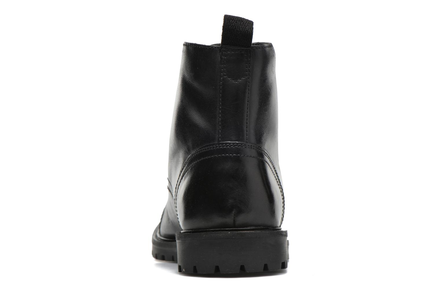 Ankle boots Base London Siege Black view from the right