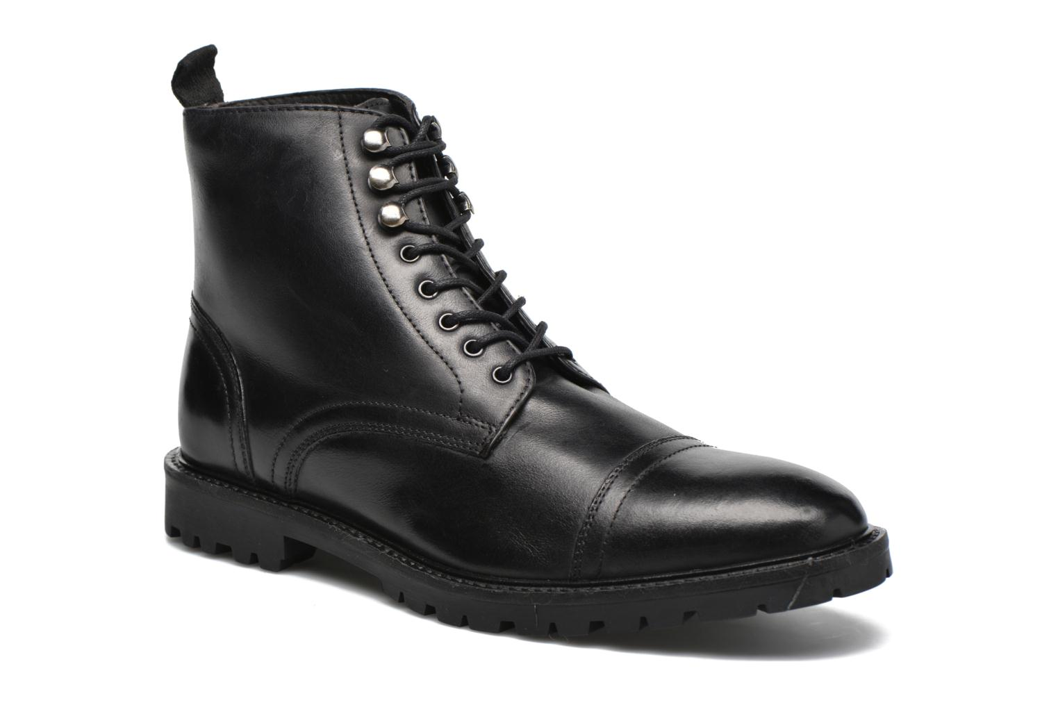 Ankle boots Base London Siege Black detailed view/ Pair view