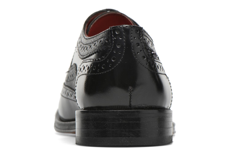 Chaussures à lacets Base London Strand Noir vue droite